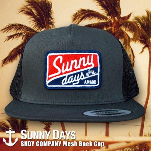 SNDY COMPANY Mesh Back Cap 5カラー
