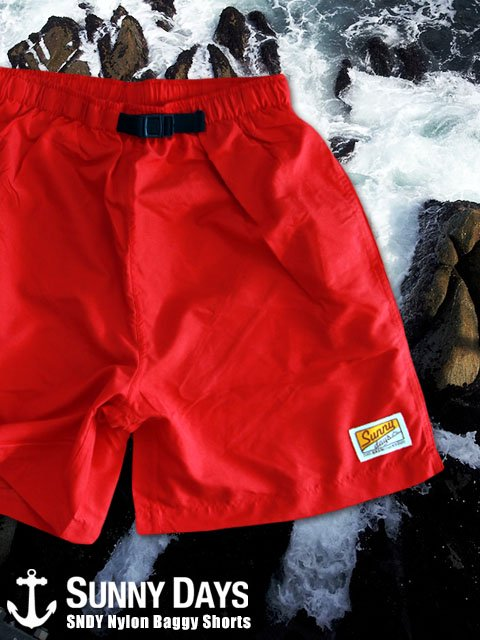 SNDY Nylon Baggy Shorts (Men's) 5カラー<img class='new_mark_img2' src='//img.shop-pro.jp/img/new/icons57.gif' style='border:none;display:inline;margin:0px;padding:0px;width:auto;' />