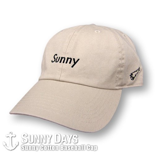 Sunny Cotton Baseball CAP 6カラー