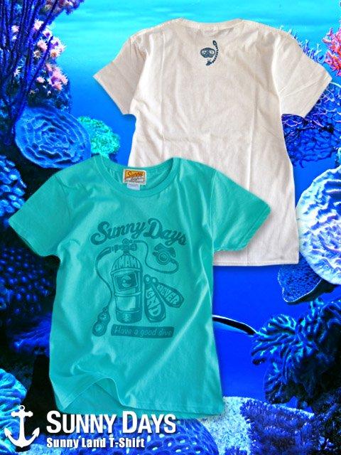 Sunny Land T-shirt (Lady's) 2カラー