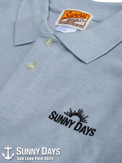 Sun Logo Polo Shirt (Men's) 2カラー