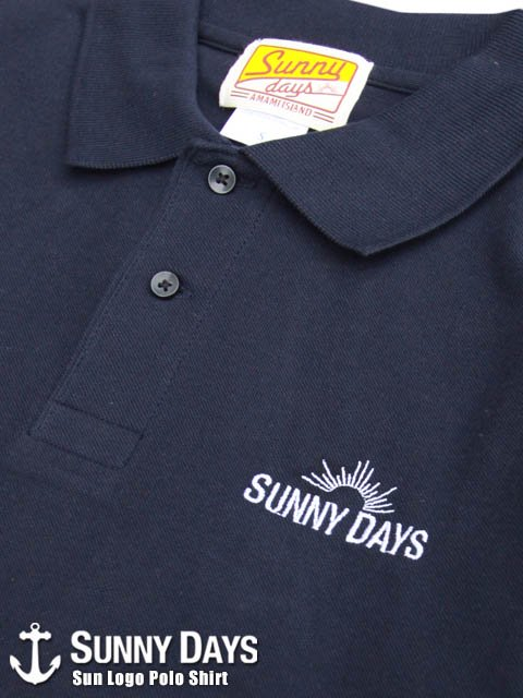 Sun Logo Polo Shirt (Lady's) 2カラー<img class='new_mark_img2' src='https://img.shop-pro.jp/img/new/icons16.gif' style='border:none;display:inline;margin:0px;padding:0px;width:auto;' />