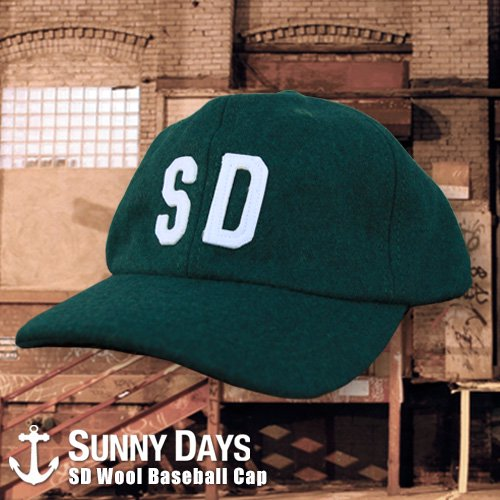 SD Wool Baseball CAP 3カラー