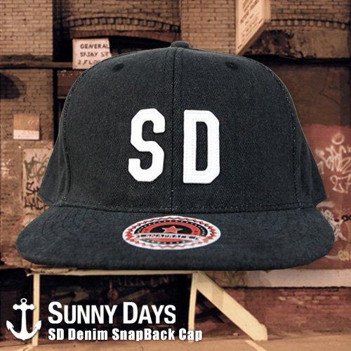 SD Denim Snapback CAP 2カラー
