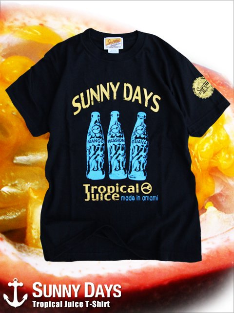 Tropical Juice T-shirt (Unisex) 3カラー<img class='new_mark_img2' src='https://img.shop-pro.jp/img/new/icons57.gif' style='border:none;display:inline;margin:0px;padding:0px;width:auto;' />