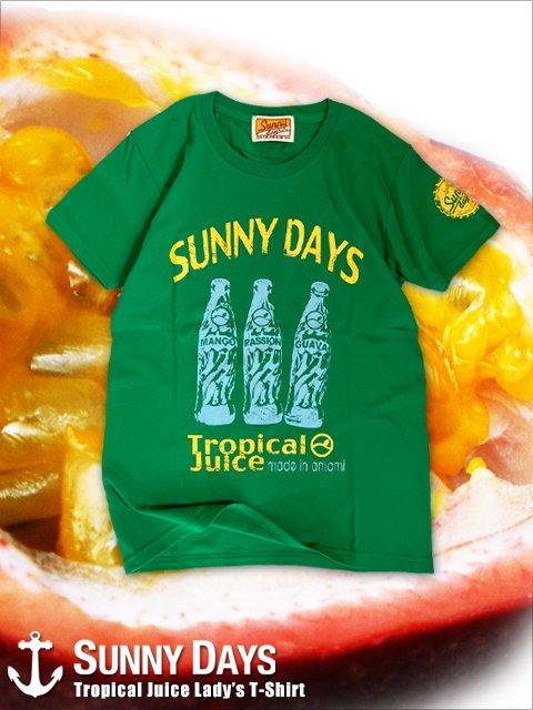 Tropical Juice T-shirt (Lady's) 3カラー<img class='new_mark_img2' src='https://img.shop-pro.jp/img/new/icons57.gif' style='border:none;display:inline;margin:0px;padding:0px;width:auto;' />