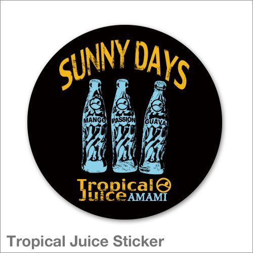 Tropical Juice Sticker
