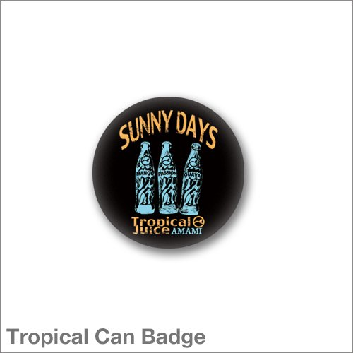 Tropical Juice Can Badge