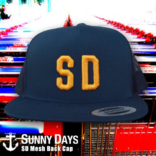 SD Logo Trucker Cap 4カラー<img class='new_mark_img2' src='//img.shop-pro.jp/img/new/icons57.gif' style='border:none;display:inline;margin:0px;padding:0px;width:auto;' />