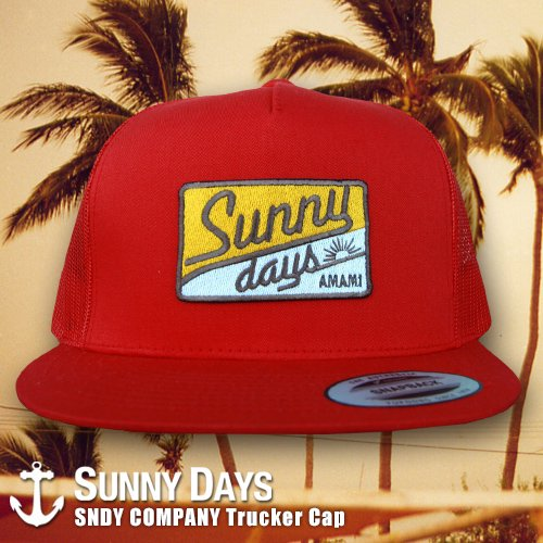 SNDY COMPANY Trucker Cap 4カラー<img class='new_mark_img2' src='https://img.shop-pro.jp/img/new/icons16.gif' style='border:none;display:inline;margin:0px;padding:0px;width:auto;' />
