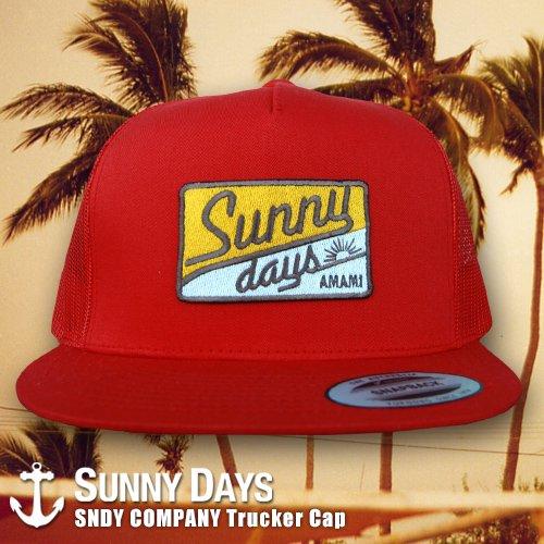 SNDY COMPANY Trucker Cap 4カラー