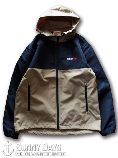 SUNNYDAYS Mountain Parka (Unisex)  ベージュ<img class='new_mark_img2' src='https://img.shop-pro.jp/img/new/icons16.gif' style='border:none;display:inline;margin:0px;padding:0px;width:auto;' />