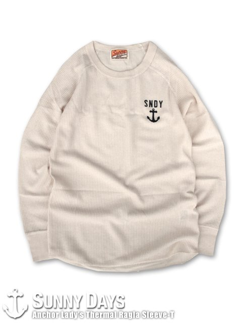Anchor Thermal Raglan Sleeve-T (Lady's) ナチュラル