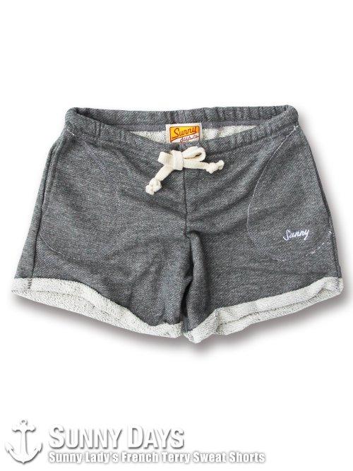 Sunny Lady's Sweat Shorts (Lady's) ヘザーグレー