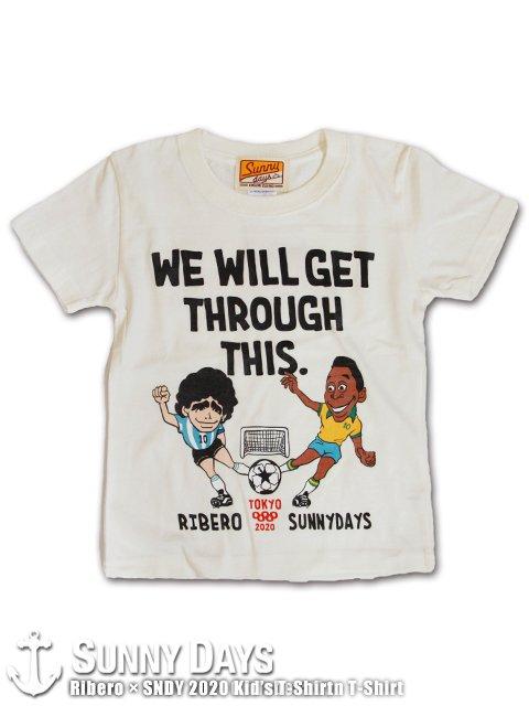 Ribero × SNDY TOKYO 2020 (2021) Kid's T-shirt (Kid's) バニラホワイト<img class='new_mark_img2' src='https://img.shop-pro.jp/img/new/icons14.gif' style='border:none;display:inline;margin:0px;padding:0px;width:auto;' />