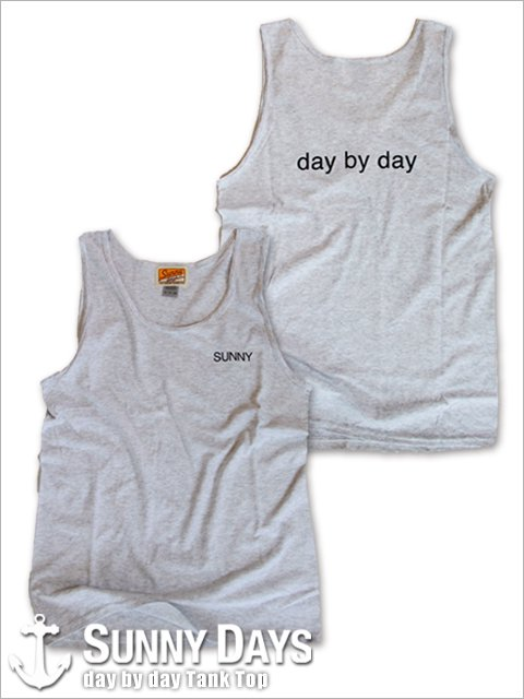 day by day Tank Top (Unisex) アッシュ