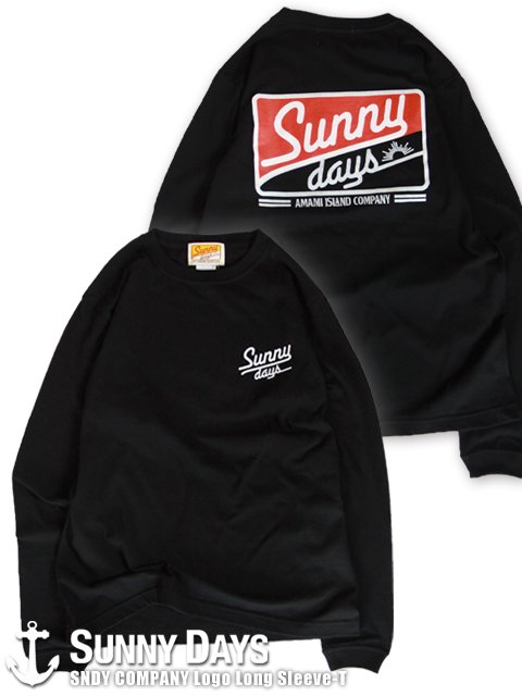 SNDY COMPANY Long Sleeve T (Unisex) ブラック