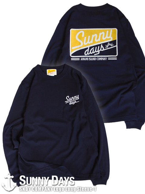 SNDY COMPANY Long Sleeve (Unisex) ネイビー<img class='new_mark_img2' src='https://img.shop-pro.jp/img/new/icons57.gif' style='border:none;display:inline;margin:0px;padding:0px;width:auto;' />