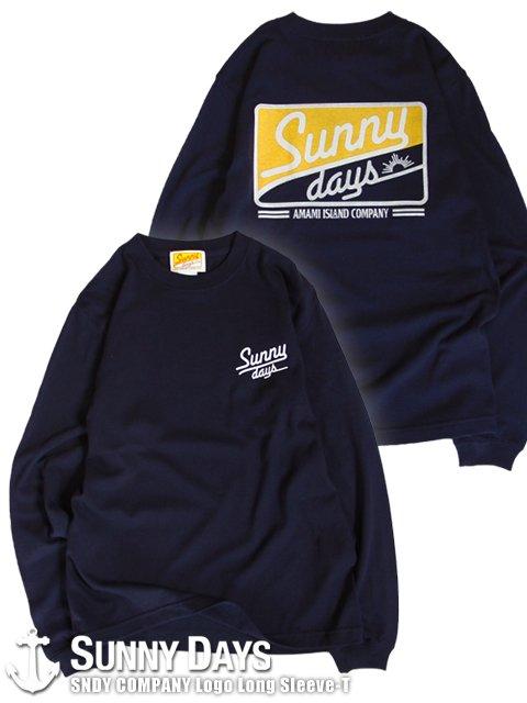 SNDY COMPANY Long Sleeve T (Unisex) ネイビー