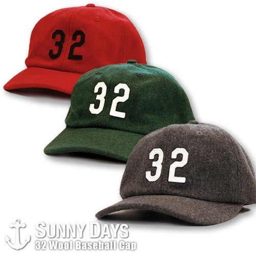 32 Wool Baseball CAP 3カラー<img class='new_mark_img2' src='https://img.shop-pro.jp/img/new/icons14.gif' style='border:none;display:inline;margin:0px;padding:0px;width:auto;' />