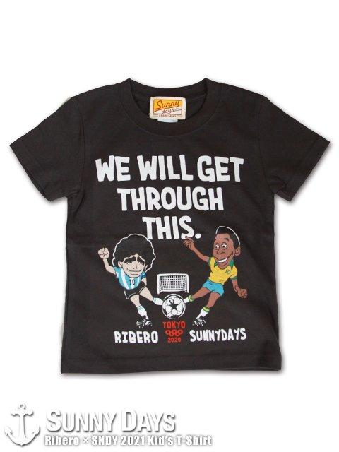 Ribero × SNDY TOKYO 2020 (2021) Kid's T-shirt (Kid's) スミクロ<img class='new_mark_img2' src='https://img.shop-pro.jp/img/new/icons14.gif' style='border:none;display:inline;margin:0px;padding:0px;width:auto;' />