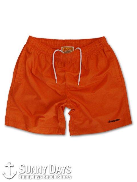 Sunnydays Beach Shorts (Unisex) オレンジ<img class='new_mark_img2' src='https://img.shop-pro.jp/img/new/icons57.gif' style='border:none;display:inline;margin:0px;padding:0px;width:auto;' />