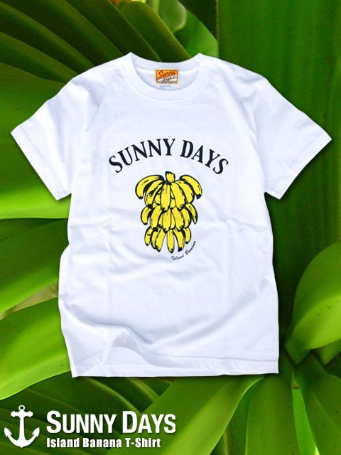 Island Banana T-shirt (Men's) 3カラー<img class='new_mark_img2' src='https://img.shop-pro.jp/img/new/icons57.gif' style='border:none;display:inline;margin:0px;padding:0px;width:auto;' />