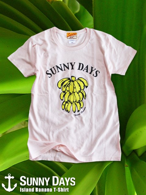 Island Banana T-shirt(Lady's) 3カラー<img class='new_mark_img2' src='https://img.shop-pro.jp/img/new/icons57.gif' style='border:none;display:inline;margin:0px;padding:0px;width:auto;' />