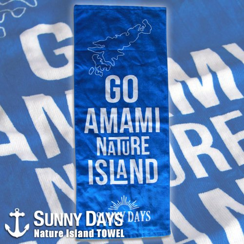 Nature Island TOWEL<img class='new_mark_img2' src='//img.shop-pro.jp/img/new/icons14.gif' style='border:none;display:inline;margin:0px;padding:0px;width:auto;' />