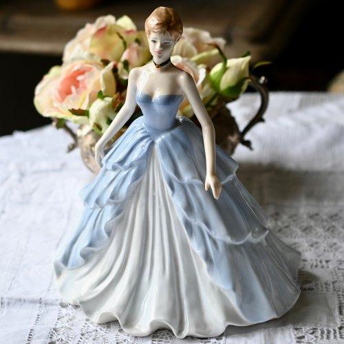 コールポート・リントンズ100周年記念フィギュリン・イブニングドレスのエミリー(送料込)
