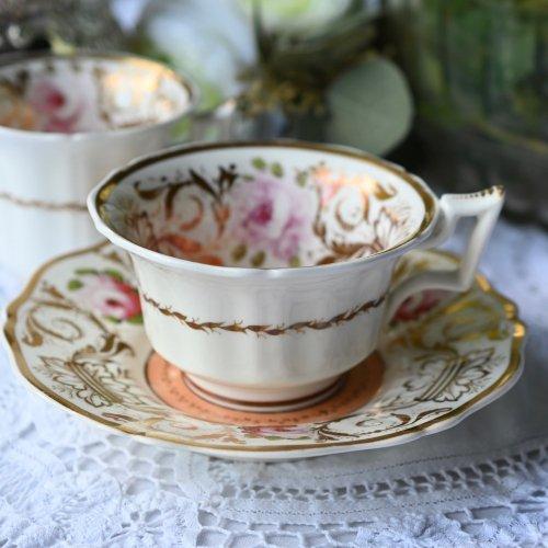 ロッキンガム  ピンクの英国のバラ オールドイングリッシュシェイプのトゥルートリオ(送料込)
