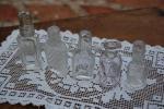 ビクトリアン時代の小さな香水瓶5本セットNO7.(送料無料)