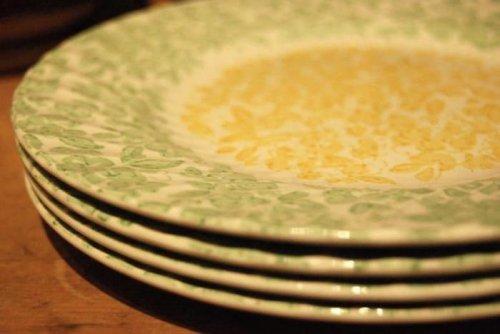 BURLEIGH・ハイドレンジアケーキ皿4枚セット