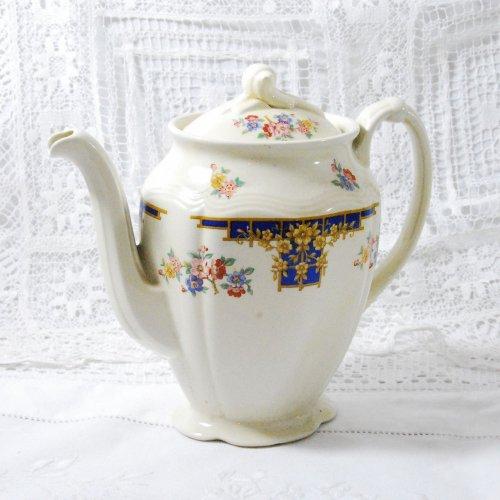 ウッズ・1960〜70年代のヴィンテージの小ぶりのコーヒーポット(送料込)