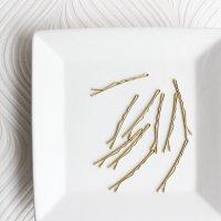 ゴールドヘアピン10本セット アメピン -glitt Select Shop-