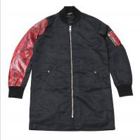 <img class='new_mark_img1' src='//img.shop-pro.jp/img/new/icons50.gif' style='border:none;display:inline;margin:0px;padding:0px;width:auto;' />90210 Black Beverly Hills Bomber JKT / Red Snake