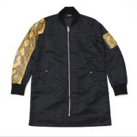 <img class='new_mark_img1' src='//img.shop-pro.jp/img/new/icons15.gif' style='border:none;display:inline;margin:0px;padding:0px;width:auto;' />90210 Black Beverly Hills Bomber JKT / Yellow Snake