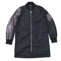 <img class='new_mark_img1' src='//img.shop-pro.jp/img/new/icons50.gif' style='border:none;display:inline;margin:0px;padding:0px;width:auto;' />90210 Black Beverly Hills Bomber JKT / Purple Snake