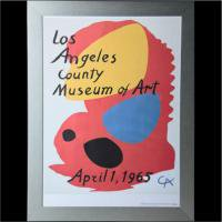 <img class='new_mark_img1' src='https://img.shop-pro.jp/img/new/icons50.gif' style='border:none;display:inline;margin:0px;padding:0px;width:auto;' />Alexander Calder 'Los Angeles County Museum of Art' Poster