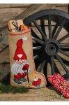 ペルミン社「ELF & MUSHROOM(サンタさん&きのこ)」PERMIN CROSS STITCH KITS ペルミン クロスステッチキット(ソックス)在庫数量のみ