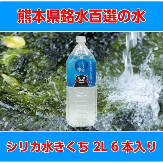 株式会社 貫水 シリカ水きくち 2Lペットボトル6本入り