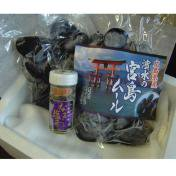 広島県産宮島ムール500g×2 + なまこの塩辛