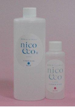 天然酵素清浄剤 風呂用 500ml 1本 & 天然酵素活性剤 花木用 100ml 1本