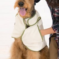 【犬用入浴剤】天然酵素清浄剤 ニコエコ ペット入浴剤500ml(1本)&ケープタオル