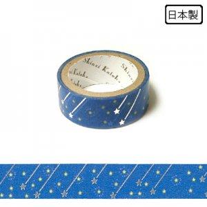 【ゆうパケット対応】トレペデコレーションテープ-きらぴか-[流れ星] 15g