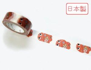 【ゆうパケット対応】いろは和紙テープ(15mm幅)[花金魚]