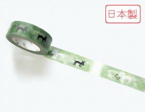 【ゆうパケット対応】いろは和紙テープ(15mm幅)[やぎさんゆうびん]