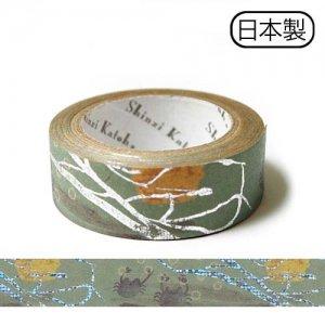 【ゆうパケット対応】クラフトデコレーションテープ-きらぴか-[やまなし]