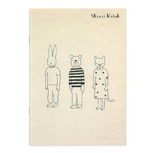 【ゆうパケット対応】A5サイズノート[animals]