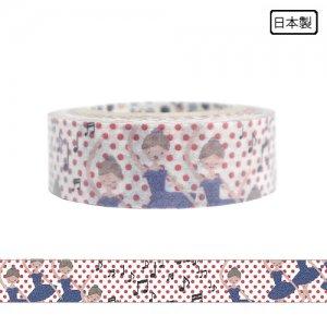 【ゆうパケット対応】マスキングテープ(15mm幅)[バレエ_エピローグ]